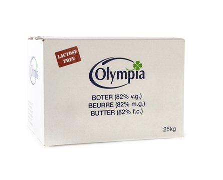 'Lactose-free' butter 25 kg