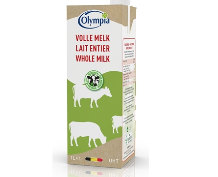 Milk in sustainable carton 1L